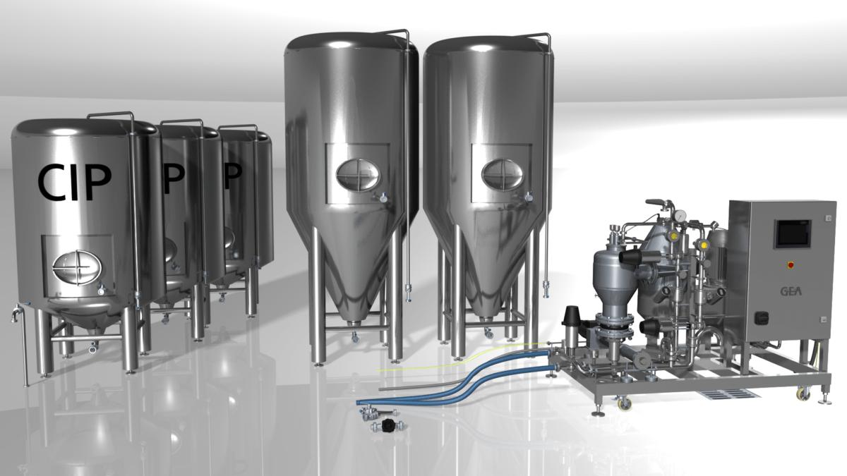 Montagehinweise Separatoren für die Getränketechnik