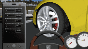 Automotive Simulator - GUI